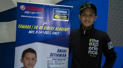 Pebalap Sulawesi Tengah akan latihan Bersama Valentino Rossi