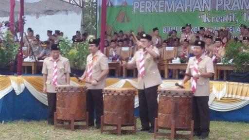 Dibuka Menteri Agama, 800 Pramuka Madrasah Se-Indonesia Ikut PPMN III di Babel