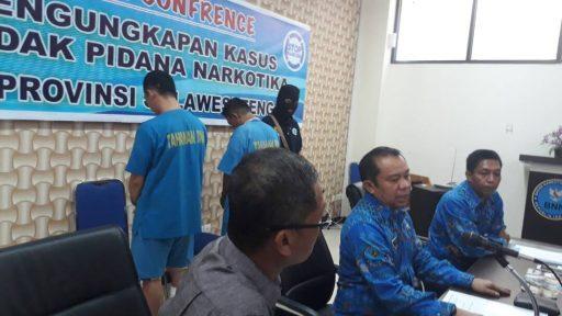 Jadi Bandar Sabu, Oknum Polisi di Touna Diciduk BNN