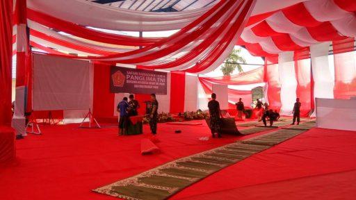 Jelang Kedatangan Panglima TNI di Poso, Aparat TNI Masih Bersiap
