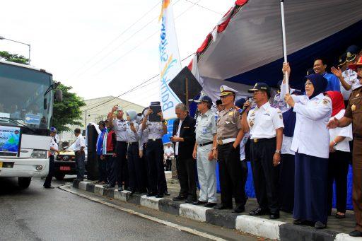 Dishub Sulteng Berangkatkan 334 Pemudik Gratis