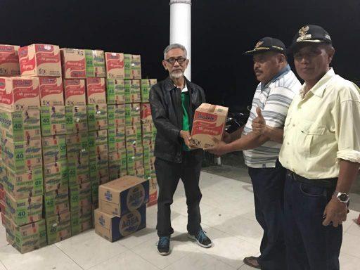 Peduli Bencana Gempa Napu, Poso City Mall Beri Sumbangan