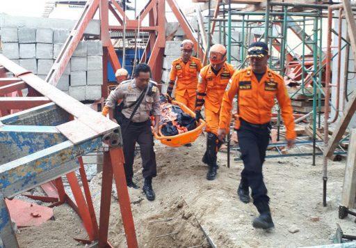 Crane Proyek RSU Undata Ambruk, Satu Pekerja Tewas