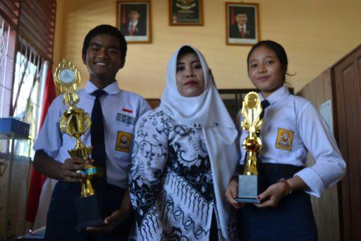 Sinta Dewi dan Muhammad Reza, Wakili Sulbar di FLS2N dan OSN