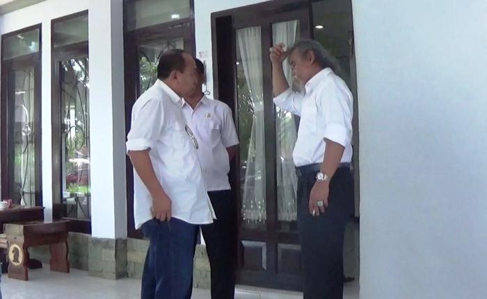 Bupati Tolis Alek Lapor Wakil Bupati