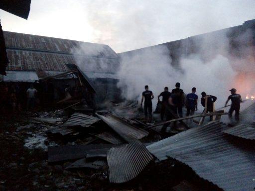 2019, Kasus Kebakaran di Kota Palu Meningkat