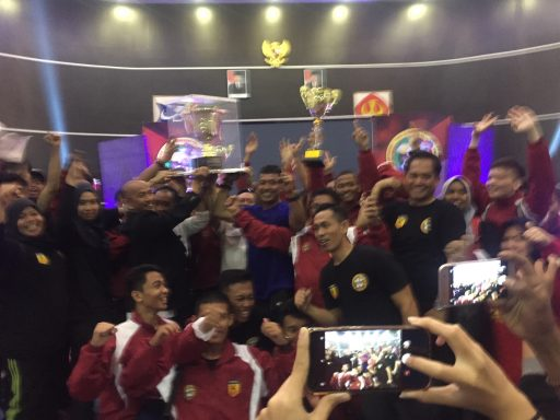 Sulsel Juara Umum, Sulteng ke-19 Pada Kejurnas Karate Piala Mendagri XX