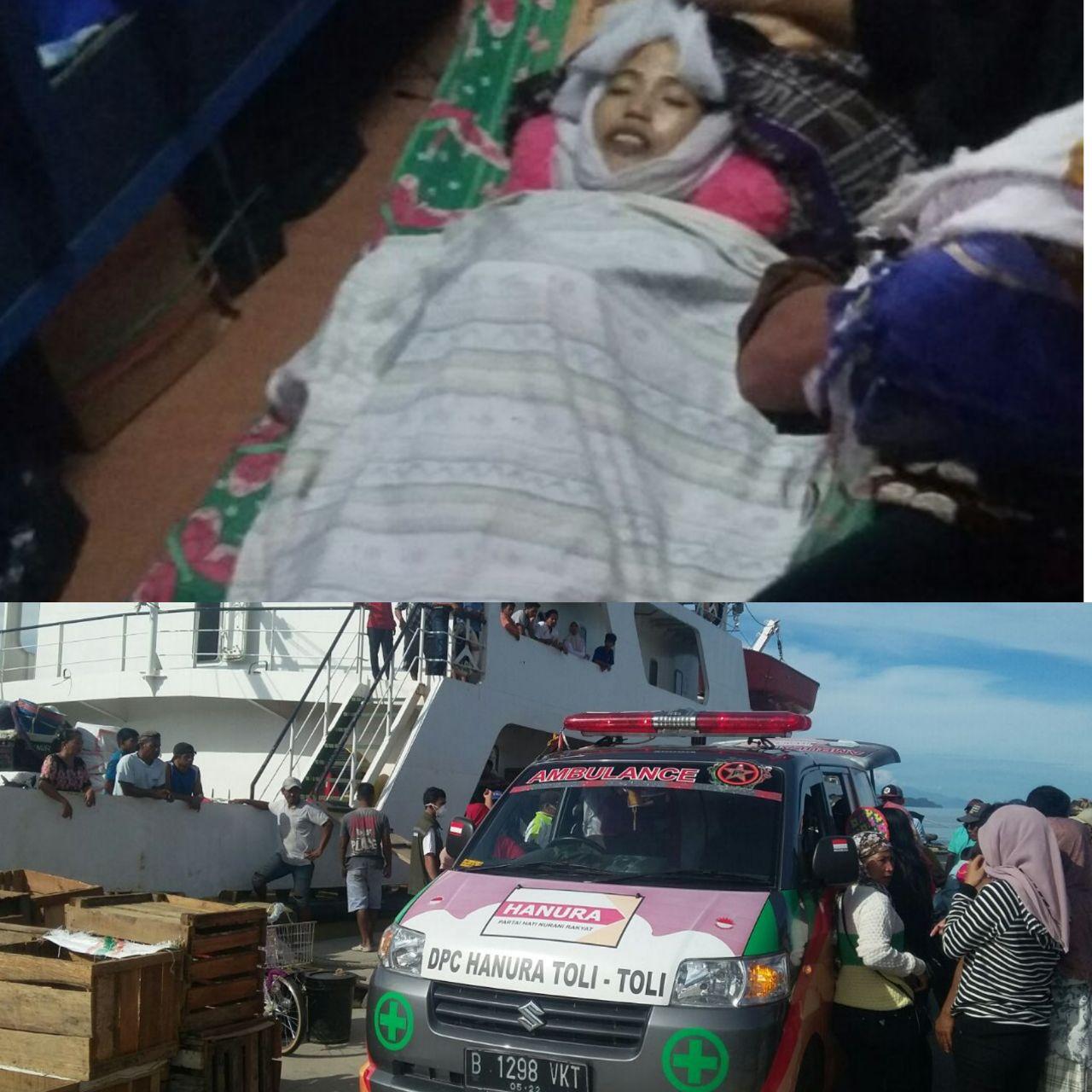 penumpang meninggal di kapal