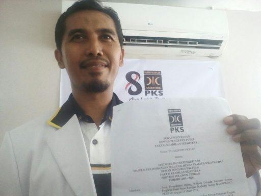 Ketua DPW PKS Sulteng Zainuddin Tambuala Diganti