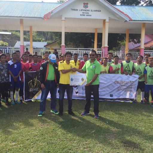 Dapat Sponsor Perusahaan Pupuk, Celebest FC Jadikan Luwuk Second Homebase