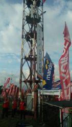 Telkomsel Pasang 3 Antena di Sulteng Expo