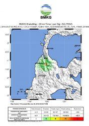 Gempa Bumi 4,5 SR Guncang Palu