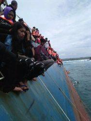 Kapal Tenggelam di Selayar Mengangkut 139 Penumpang