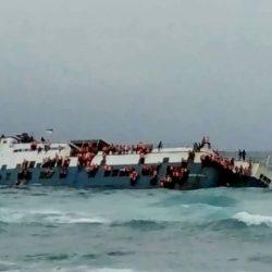KMP Lestari Maju Sengaja Dikandaskan,  Bukan Tenggelam