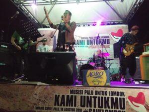 Belasan Musisi Palu Konser Amal Bantu Korban Gempa Lombok