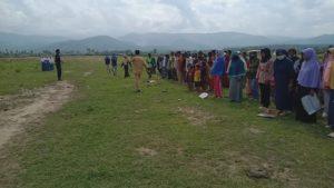 Korban Gempa Sigi Peringati Hari Sumpah Pemuda di Pengungsian
