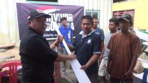 VIDEO: Survivor Indonesia Bantu 9 Perahu dan Alat Pancing untuk Nelayan Korban Tsunami
