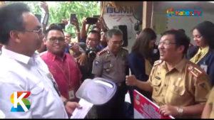 VIDEO: Kemensos Serahkan Perlengkapan Huntara Senilai Rp2,9 M