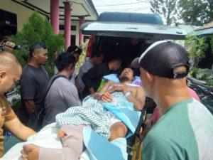 Bripka Andrew, Polisi Korban Tembak OTK Dirujuk ke RS Sanglah Bali