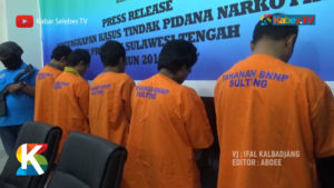 VIDEO: Lima Bandar Sabu di Palu dan Poso Diringkus Aparat