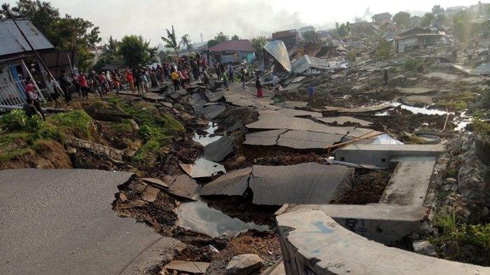 Gempa Palu Dahsyat