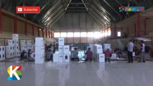 VIDEO: Logistik Pemilu di Beberapa Kabupaten di Sulteng Rusak