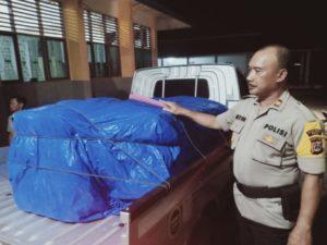 Polisi Kawal Ketat Logistik Untuk Pelaksanaan PSU