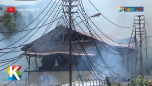 VIDEO: Dua Rumah Terbakar Apinya Nyaris Melalap RSUD Undata
