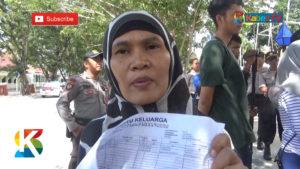 VIDEO: Tak Bisa Nyoblos, Sejumlah Warga Protes KPU Palu