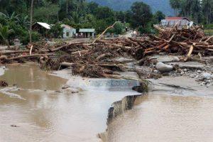 Gubernur Nyatakan Banjir Bandang Sigi Masih Efek Gempa 7,4 SR
