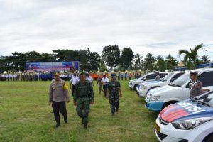 Jelang Lebaran, Ratusan Personel Gabungan di Banggai Disiagakan