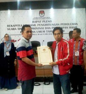 PDI Perjuangan Raih 6 Kursi DPRD Provinsi, 1 Kursi DPR RI, : Muharram Nurdin: Terima Kasih Rakyat Sulteng