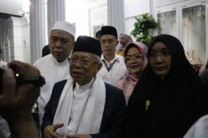 KH. Ma'Ruf Amin Sebut Guru Tua Pantas Diberikan Gelar Pahlawan