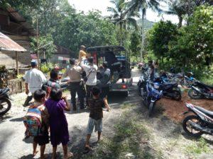 Warga Desa Pangi Tolitoli Digegerkan Penemuan Mayat Terjepit di Batang Pohon Aren