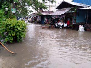 Hujan 4 Jam, Sejumlah Daerah di Palu Digenangi Air