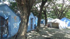 90 Kepala Keluarga di Tenda Pengungsian Masjid Agung Direlokasi