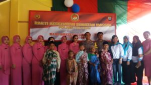 Digelar Polsek Lampasio, 29 anak Dari Keluarga Miskin Ikut Sunatan Gratis