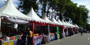 HUT Bhayangkara ke-73, Polda Sulteng Buka Pasar Murah