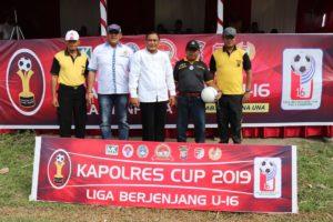 Seleksi Pemain Muda di Touna Melalui Kapolres Cup U-16