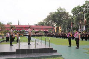 Kapolda Sulteng Sambut Kepulangan Pasukan BKO Pengamanan Aksi 22 Mei