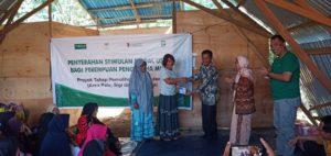 Perempuan Korban Gempa di Pasigala dapat Bantuan Modal Usaha Rp1,43 Milyar