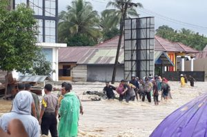 Tiga Kecamatan di Kabupaten Banggai Direndam Banjir