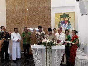 Pidato di Gereje Katolik, Ketua MUI Palu : Keberagaman Adalah Kehendak Tuhan
