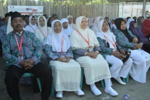 716 Jemaah Calon Haji Dilepas Walikota Palu