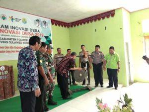 Program Inovasi Desa 2019 di Tiga Kecamatan Dipusatkan di Lampasio Tolitoli