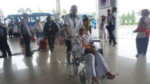 449 JCH Sulteng Kloter 8 Diberangkatkan Menuju Embarkasi Balikpapan