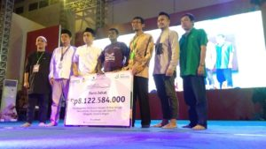 BMI – BMM Salurkan Dana Zakat korban Bencana di Kabupaten Donggala