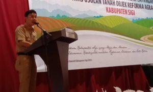 Bupati Sigi Komitmen Perjuangkan Reforma Agraria di Wilayahnya