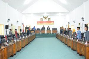 Rapat Paripurna Ketiga, DPRD Sigi Susun Tata Tertib Dewan