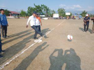 Dibuka Bupati Sigi, 18 Tim Ikut Turnamen Sepak Bola Moh. Irwan Cup